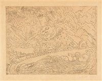 les cataclysmes by james ensor
