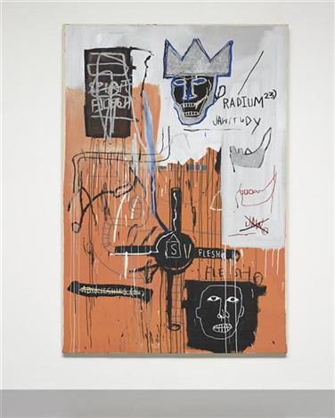 radium 23 by jean-michel basquiat