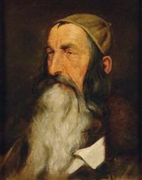 portrait d'un juif du caucase by max sandor