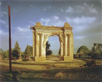 king amanullah's victory arch by simon norfolk