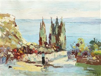 walk on dalmatian coast by rudolph negely