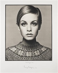 twiggy by barry lategan
