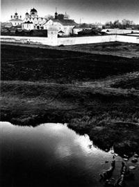 monastère, souzdal by iouri abramochkin