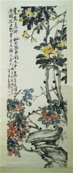 现代 花卉 纸本 by zhao yunhe