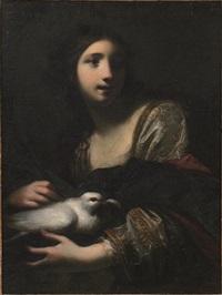 allegoria della purezza (santa reparata) by simone pignoni