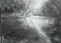 woodland stream by wally ames