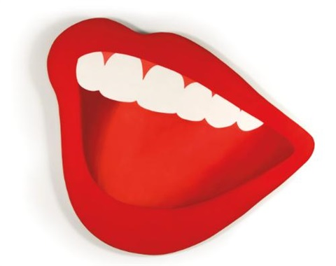 mouth 3 by tom wesselmann
