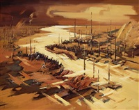 events-impression of the yellow river dam project at weishan by liu lei