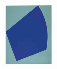 correspondence green-blue by leon polk smith