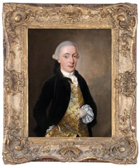 portrait of a gentleman by john singleton copley