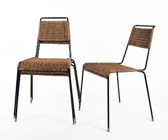 Vier Wilde Spieth Stacking Chairs Von Paul Schneider Von Esleben Auf