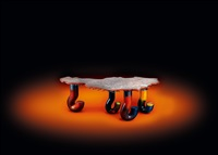 austria table by gaetano pesce