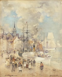yarmouth harbour by james watterston herald