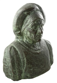 peasant woman from sibiu by cornel medrea