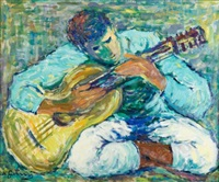 gitarzysta by nathan gutman