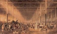 st john's market, liverpool by samuel austin