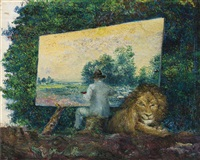 autorretrato (el pintor) by joaquín clausell