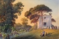 chapel in the veneto by joseph gerstmeyer
