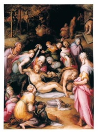 the lamentation over the dead christ by giovanni battista di matteo naldini