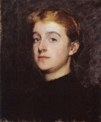 portrait of eleanor hardy bunker by dennis miller bunker