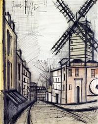 le moulin de la galette by bernard buffet