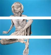 untitled (triptych) by dewa gede ratayoga