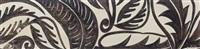 feuillages stylisés, projet pour impression textile by raoul dufy