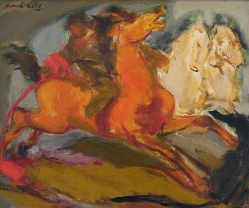 horses by mané katz