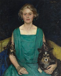 portrait of rosamond castle winslow by gertrude fiske