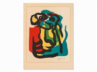abstract figure by karel appel