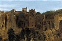 pitigliano, tuscany by sir charles lock eastlake