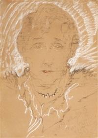 portret kobiety by stanislaw ignacy witkiewicz