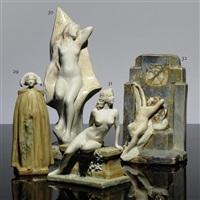 nude figure by leopold pierre antoine savine