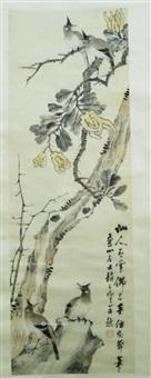 现代 花鸟 纸本 by zhao yunhe