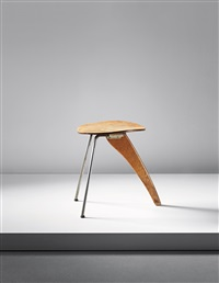 rudder stool, model no. in-22 by isamu noguchi