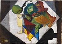 naturaleza muerta (composición con alcachofas y limones) by diego rivera