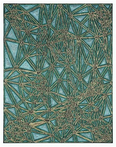 shifted lattice by james siena