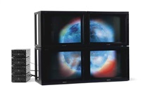 composite sun video wall by diana thater