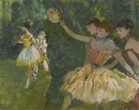 danseuse au tambourin by edgar degas