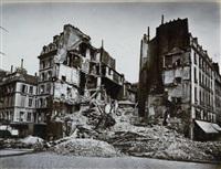 la commune, ruines de paris et de ses environs (9 works) by alphonse liebert