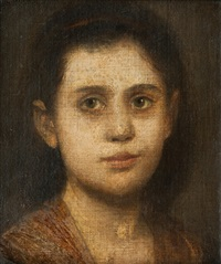 portrait of the daughter of arnold böcklin by franz seraph von lenbach