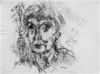 frauenporträt by otto niemeyer-holstein
