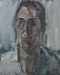 portrait d'homme de face by fermin aguayo