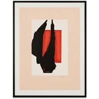 art 1981 chicago print (engberg-banach 282) by robert motherwell