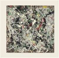 number 12, 1950 by jackson pollock
