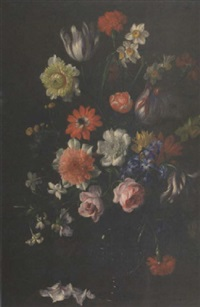 carnations and violets by constance walton