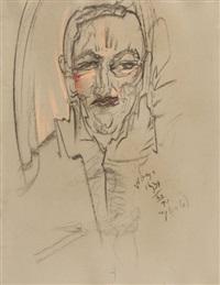 portret józefa jana głogowskiego, xii by stanislaw ignacy witkiewicz