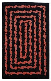 footprints carpet by richard long