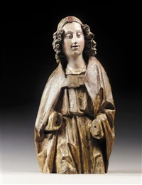 bust of an angel by hispano-flemish school (15)