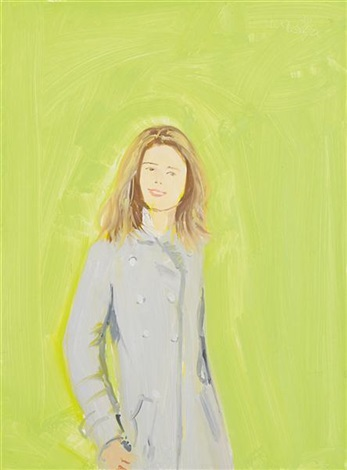 study of leig by alex katz